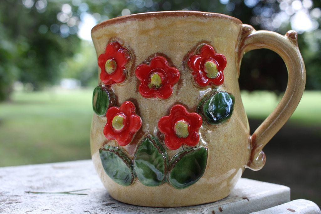 Virágos cappuccino